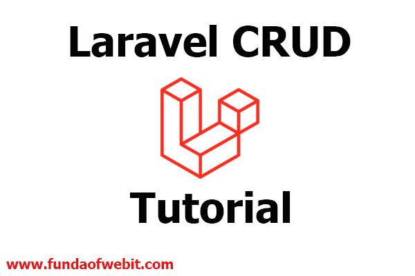 Laravel CRUD